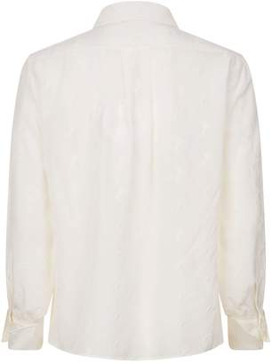 Chloé Embroidered Horse Blouse