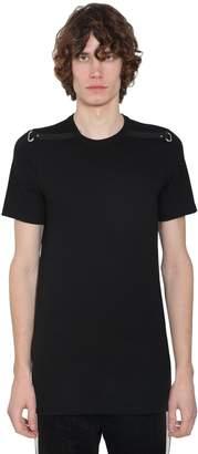 Rick Owens Regular Crewneck Cotton Jersey T-shirt