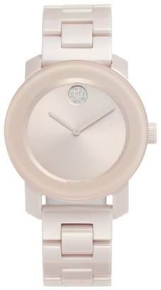Movado Bold Ceramic Bracelet Watch, 36mm