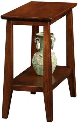 Leick Furniture Sienna Finish Narrow End Table