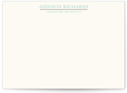Botanic Business Stationery Cards