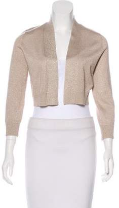 Calvin Klein Metallic Knit Cardigan
