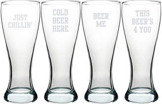 Accessories Cathy's Concepts Cold Beer Here Pilsner Set