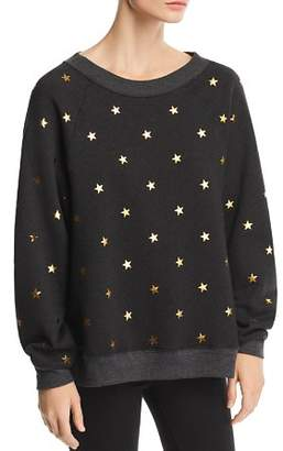 Wildfox Couture Sommers Twinkle Star Print Sweatshirt - 100% Exclusive