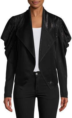 Bisou Bisou Draped Sleeve Jacket