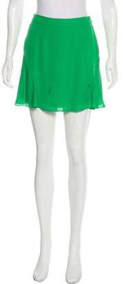 Rebecca Minkoff Silk Mini Skirt
