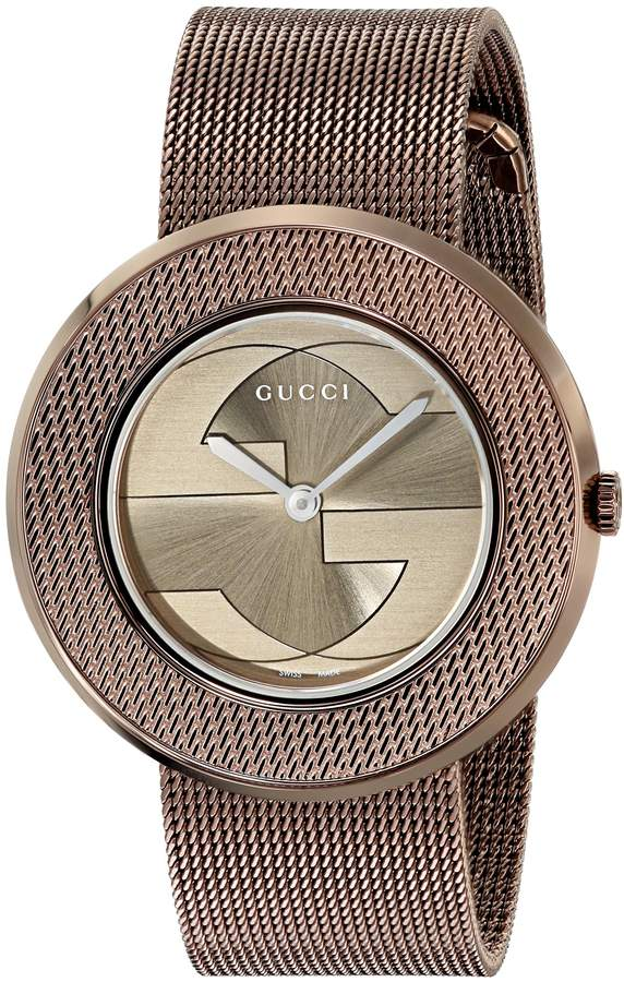 Gucci Women's YA129445 U -Play Collection Stainless Steel Watch