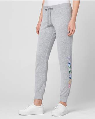 Juicy Couture Gothic Rainbow Juicy Velour Zuma Pant