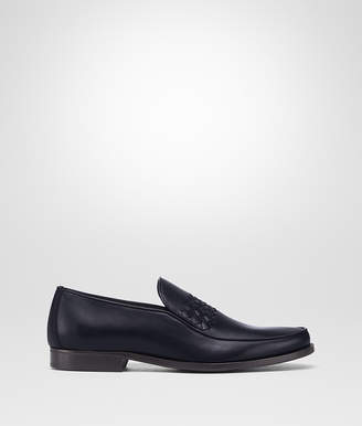Bottega Veneta DARK NAVY CALF CHET SLIP-ON