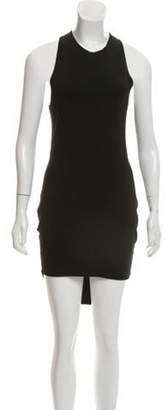 Alexander Wang Sleeveless Knee-length Sheath Dress Black Sleeveless Knee-length Sheath Dress