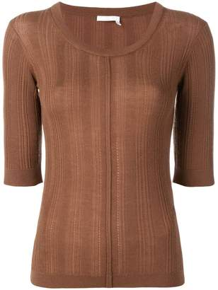 Chloé slim-fit cashmere top