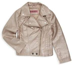 Urban Republic Girl's Metallic Jacket