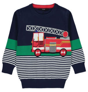 George Fire Engine Jumper