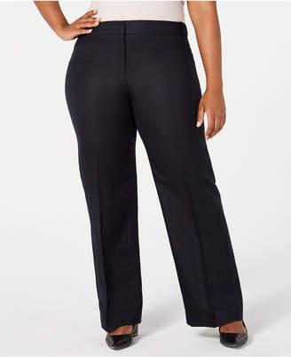 ac32678db96 Calvin Klein Plus Size Wide-Leg Pants
