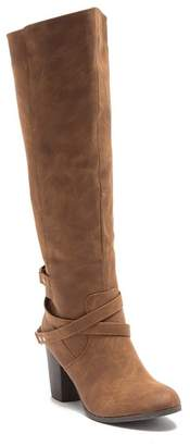 Madden-Girl Doonee Wrap-Around Heeled Boot
