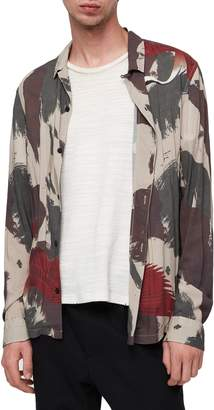 AllSaints Lucerne Slim Fit Shirt