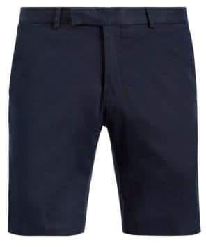 Ralph Lauren Purple Label Adjustable Buckle Belt Shorts