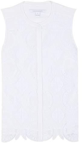 Diane von Furstenberg Lakyn lace top