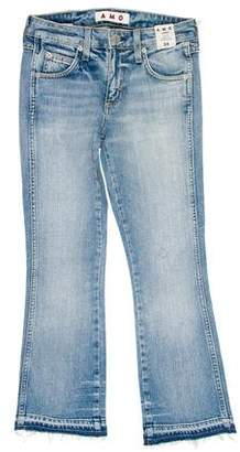 Amo Jane Mid-Rise Distressed Jeans w/ Tags