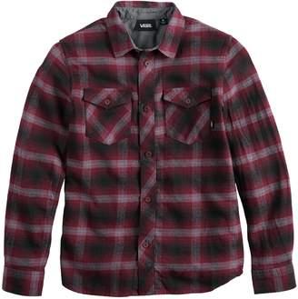 Vans Boys 8-20 Wild-Square Button-Down Shirt