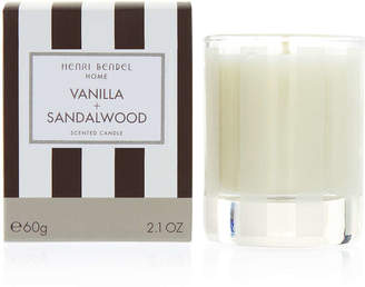 Henri Bendel Vanilla & Sandalwood 2.1 Oz Travel Candle