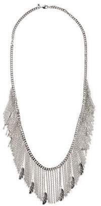 Rebecca Minkoff Multistrand Feather Necklace