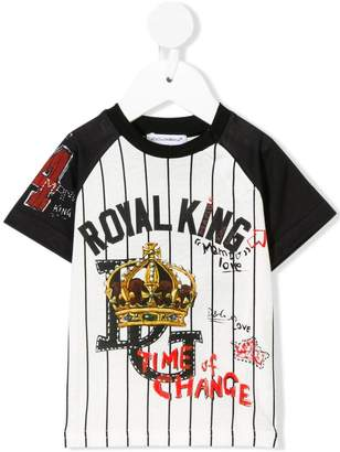Dolce & Gabbana royal king T-shirt
