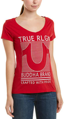 True Religion Lined Horseshoe T-Shirt