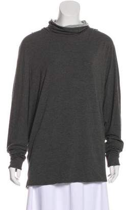 Calvin Klein Collection Long Sleeve Knit Top