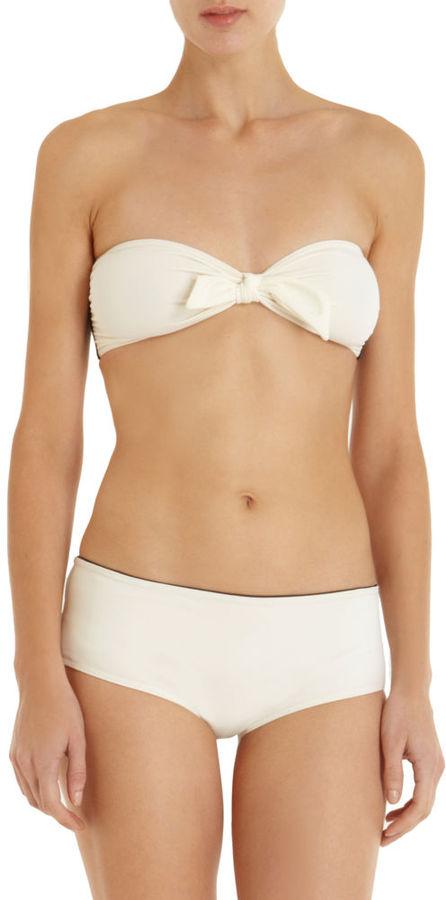 3.1 Phillip Lim Bow Bandeau Bikini