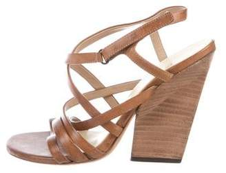 Marsèll Leather Cage Sandals