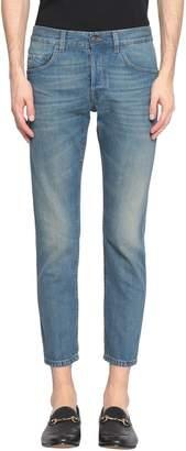 Gucci Tiger Patch Cotton Denim Jeans