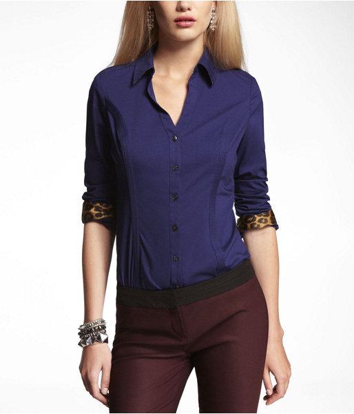 Express The Original Long Sleeve Essential Shirt