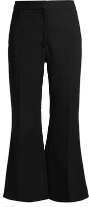 Stella McCartney Angela kick-flare cropped stretch-wool trousers