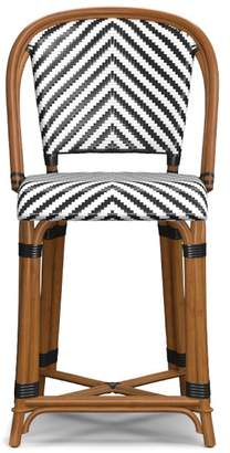 Williams-Sonoma Parisian Bistro Woven Counter Stool