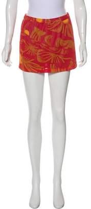 Roseanna Printed Mini Skirt