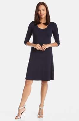 Karen Kane A-Line Jersey Dress