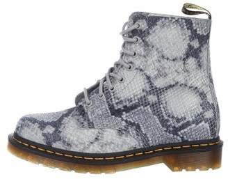 Dr. Martens Embosses Ankle Boots w/ Tags