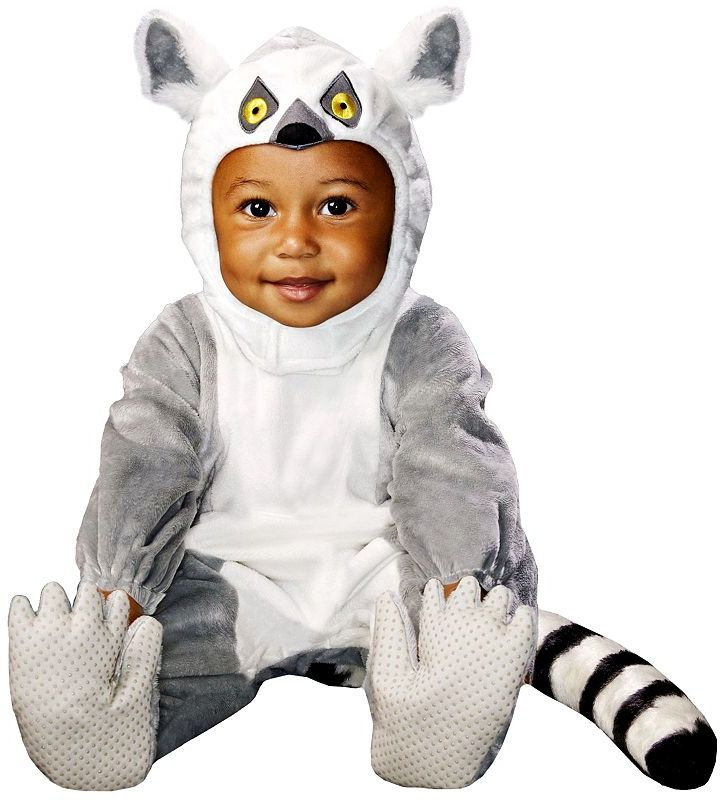 Animal planet™ ring-tailed lemur costume