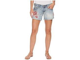 Stetson Jean Shorts with Embroidery Women's Shorts