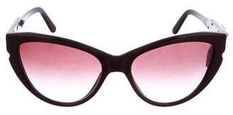 Stella McCartney Cat-Eye Gradient Sunglasses