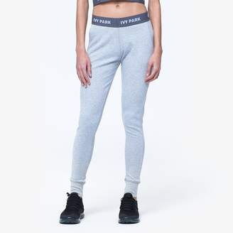 Ivy Park 'V' Rib Loose Fit Leggings - Women's