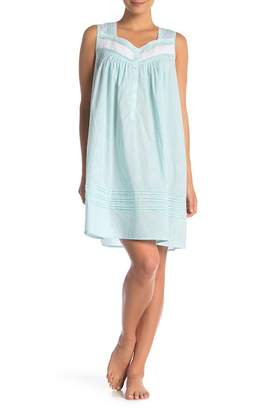 Eileen West Square Neck Printed Nightgown