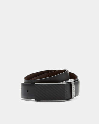 Ted Baker TWILL Reversible leather belt
