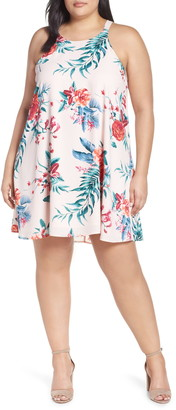 Gibson x Hi Sugarplum! Naples Swing Halter Dress