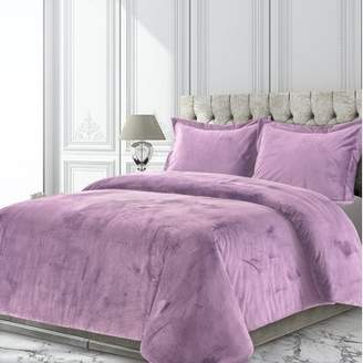 Mercer41 Romine Solid Oversized Duvet Set