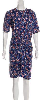 Isabel Marant Silk Printed Dress