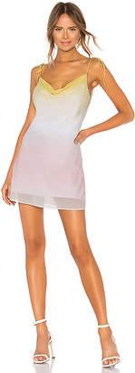 LPA Cowl Mini Slip Dress