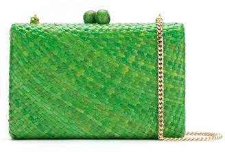 Serpui straw clutch