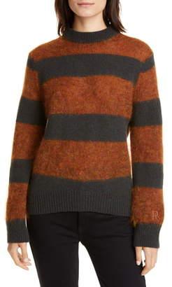 Roseanna Stripe Wool & Mohair Blend Sweater